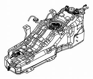 2008 Jeep Liberty Tank  Fuel  Gallon  Plate  Skid