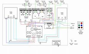 Home Theatre Amplifier Wiring Diagram