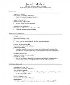 resume template pdf professional cv template 8 free documents in pdf word
