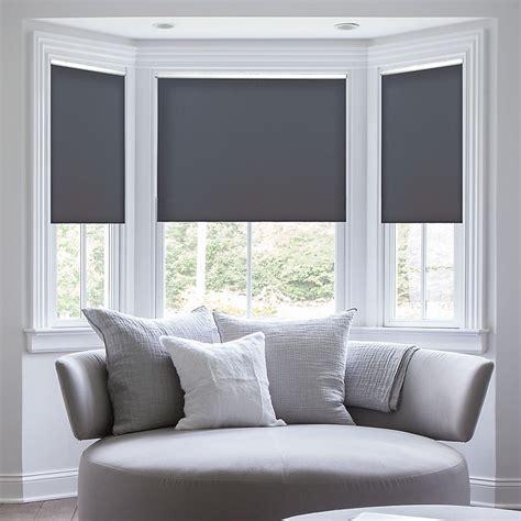 deluxe room darkening fabric roller shades blindstercom