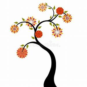 Baum Mit Roten Blättern : baum mit roten orange blumen vektor abbildung illustration von digital bl ht 2738161 ~ Eleganceandgraceweddings.com Haus und Dekorationen