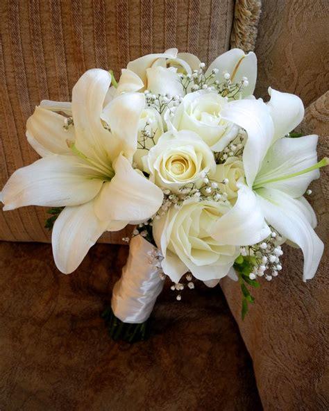 flower girl blog white bridal bouquet