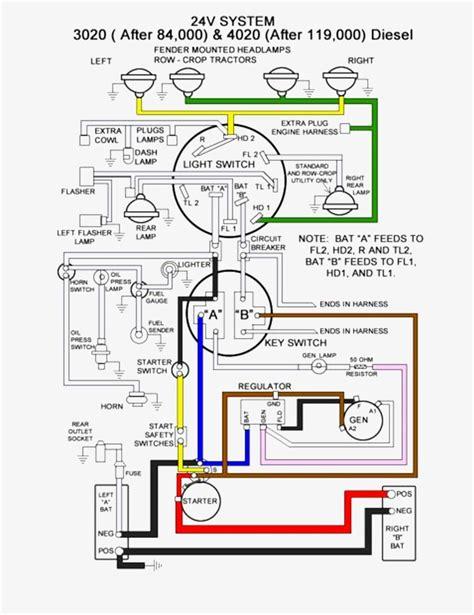 John Deere 4010 24V Wiring Diagram - Lir Wiring 101 on john deere wire harness, john deere wire colors, kawasaki wire schematic,