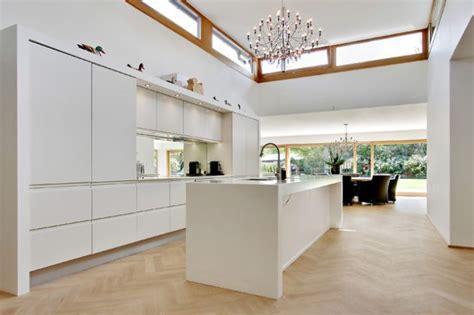 amenagement cuisine ouverte avec salle a manger cuisine moderne contemporaine 17 modèles incroyables