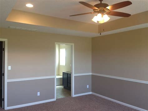 two tone paint on walls two toned walls on