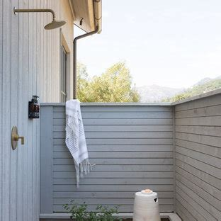 beautiful farmhouse outdoor shower design pictures