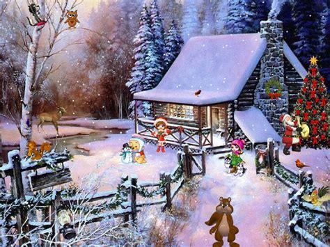 christmas adventure  screensaver  windows christmas