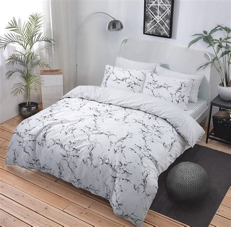 Cover Bedding by New Duvet Cover Quilt Cover Bedding Set Marble Grey All