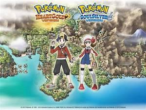 pokemon heartgold and soulsilver screensaver enftonic