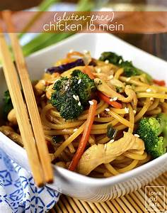 Gluten-Free Chicken Lo Mein - Iowa Girl Eats
