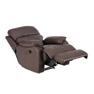 glasswells panama electric recliner chair leather walnut