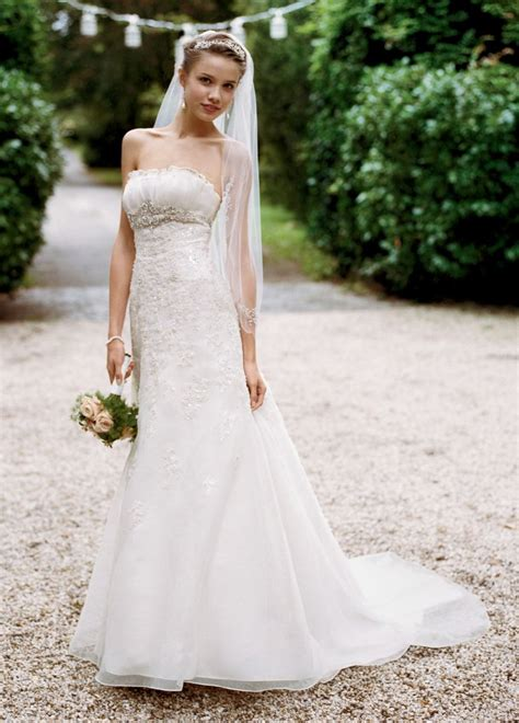 Davids Bridal Wg3121 Size 9 Wedding Dress