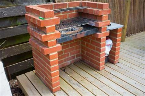 brick bbq designs diy guide to building a brick bbq in a patio area how to
