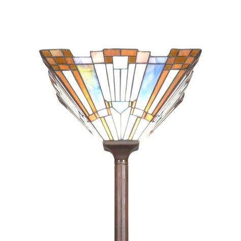 Lampadaire Style Tiffany Art Déco  Lustres Suspensions