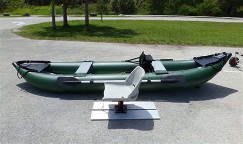 Diy Boat Seat Swivel by Do It Yourself Swivel Fishing Seat Platform For Kaboats