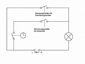 Bewegungsmelder Mit Schalter Für Dauerlicht : aussenlicht zeitgesteuert differenziert schalten ~ Orissabook.com Haus und Dekorationen
