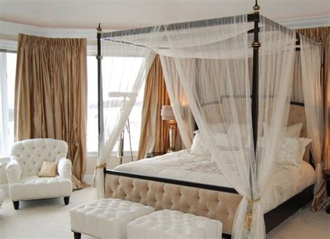 dreamy  romantic full draped canopy beds home