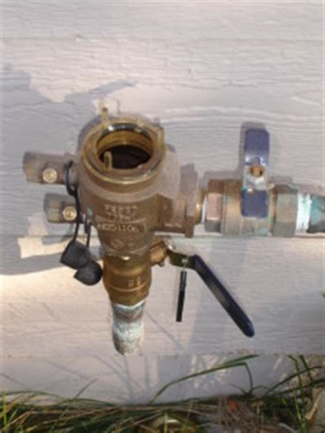 checking  vacuum breaker  freeze damage denver