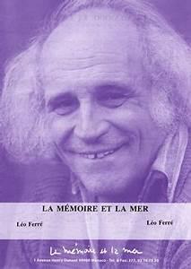 La Mémoire Et La Mer : partition l o ferre la m moire et la mer ~ Melissatoandfro.com Idées de Décoration