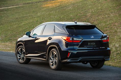 lexus black 2016 lexus rx 350 f sport and rx 450h show up in nyc