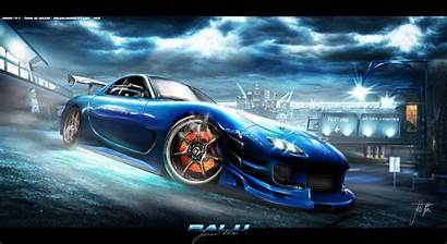 Mazda Rx Rx7 Wallpapers Tuning Cars 3d