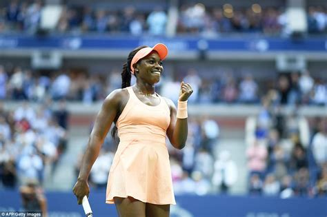 sloane stephens beats to 2017 us open title daily mail