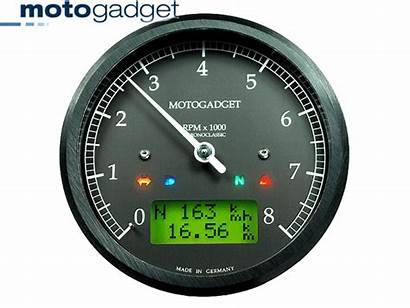 Tachometer Speedometer Motogadget Analog 80mm Face Bikermart