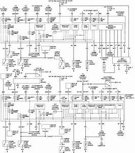 Fig 16 3 4l Vin X Engine Control Wiring Diagram 1994 95