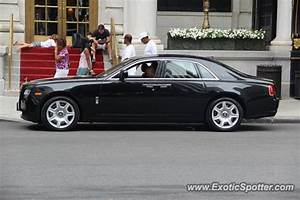 Rolls Royce Ghost spotted in Manhattan, New York on 08/12/2011