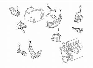 Pontiac Sunfire Manual Transmission Mount  Engine  Mounting  Replace