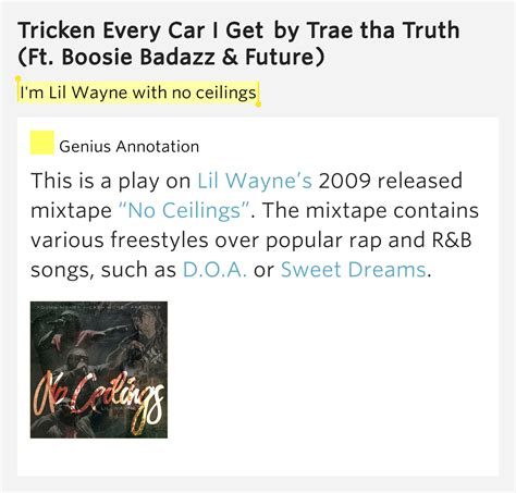Lil Wayne I Got No Ceilings Mp3 by I M Lil Wayne With No Ceilings Tricken Every Car I Get