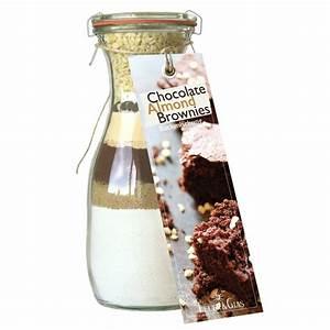 Brownies Im Glas : chocolate almond brownies backmischung im glas ~ Orissabook.com Haus und Dekorationen