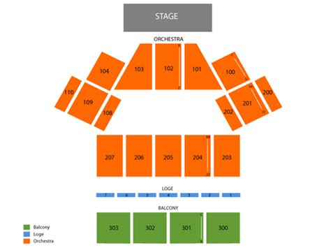 dome  oakdale theatre seating chart