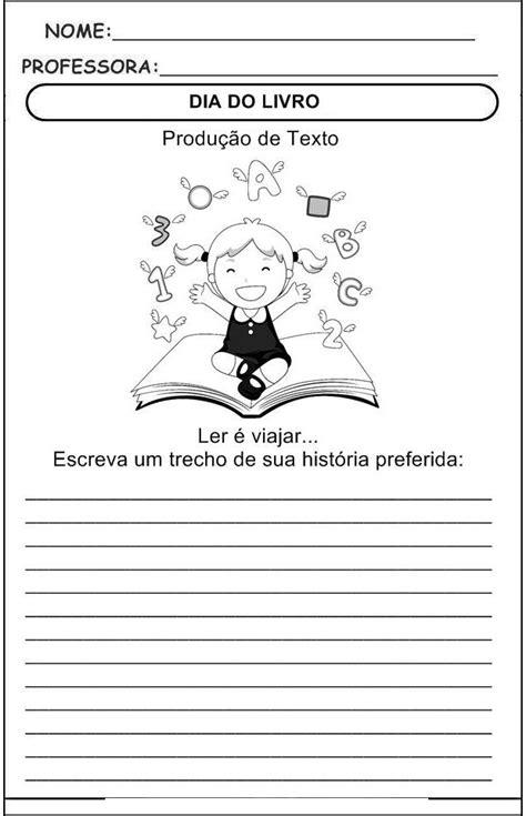 internacional  livro infantil atividades