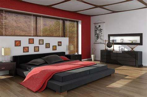 asian interior design bedroom  model cgtradercom