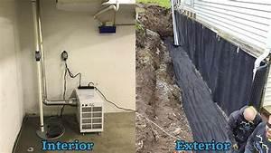 Basement Waterproofing In Ithaca  Syracuse  Binghamton  Ny