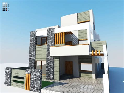 6 Marla Home Design 3d : 225 Sq M House At Dha Lahore-phase 6