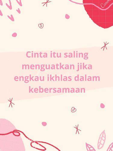 quotes cinta  bikin kamu baper
