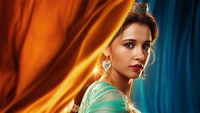 Jasmine Princess Aladdin Naomi Scott 5k 1080