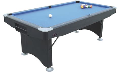 folding pool table 7ft buffalo challenger 7ft pool table with folding legs sam