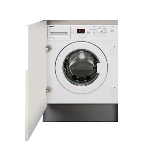 washing kitchen cabinets beko qwm84 white built in washing machine departments 3357