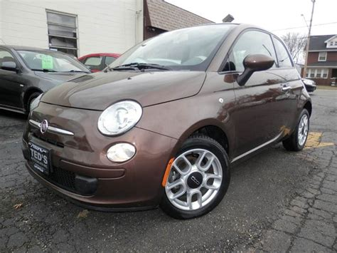 Fiat Of Louisville by 2012 Fiat 500c Pop 2dr Convertible In Louisville Oh Ted