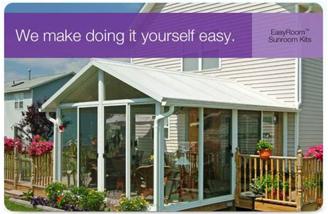 diy sunroom sunroom kits sunrooms and patio enclosures on