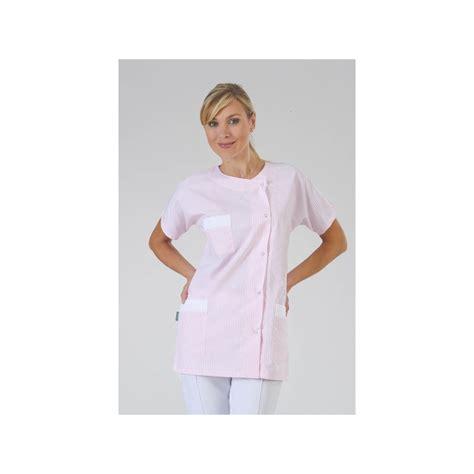 tablier de cuisine professionnel personnalisé blouse courte puericultrice ée label blouse