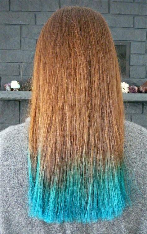 years  turquoise dip dyed hair rainbow hair faq