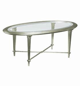 bristol oval cocktail table silver from the james river With bristol coffee table