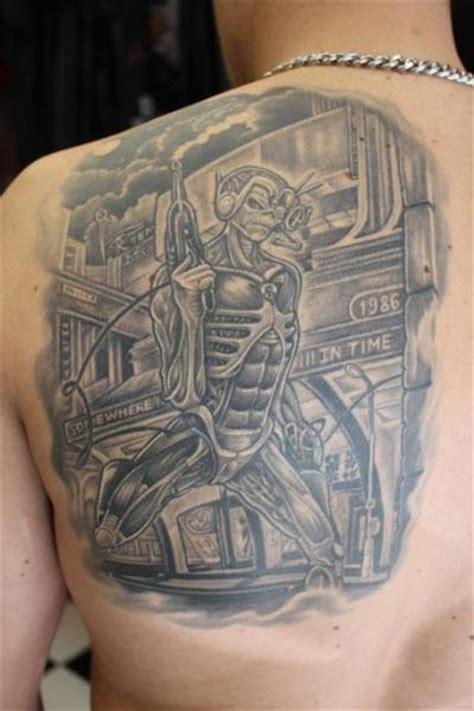 fantasy  iron maiden tattoo  mito tattoo