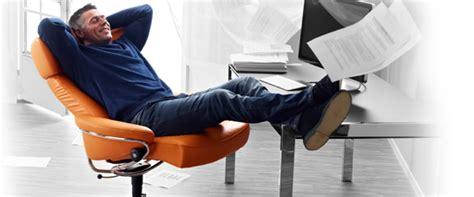 fauteuil de bureau stressless ou essayer des fauteuils de bureau le simon