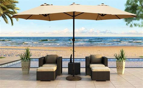 Le Papillon 14 Ft Patio Outdoor Umbrella