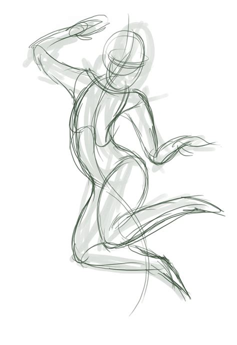 quick tip create dynamic poses  gesture drawing